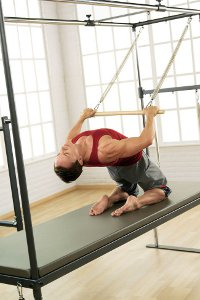 Pilates with big equipment